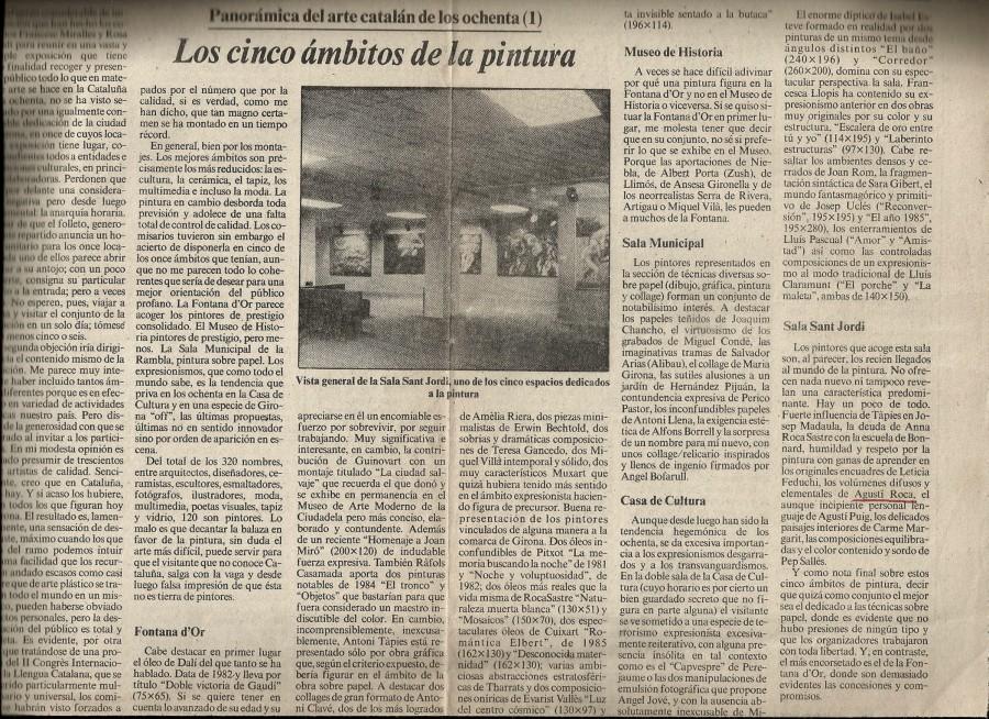 Catalunya Centre d'Art 1986