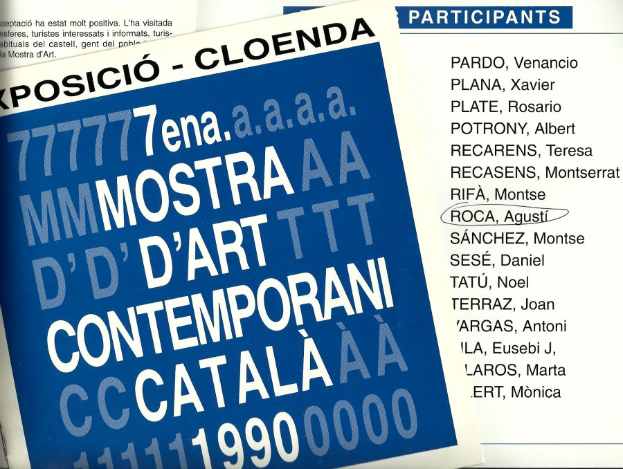 Mostra d'Art Contemporani Català 1990