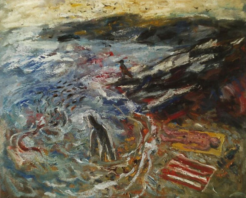 FAVARITX.  1988.  Oli sobre tela/Óleo sobre tela/Oil on canvas.  81x100 cm.