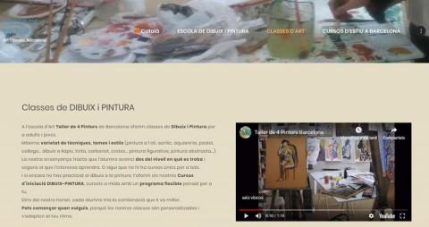 webTaller de 4 Pintors